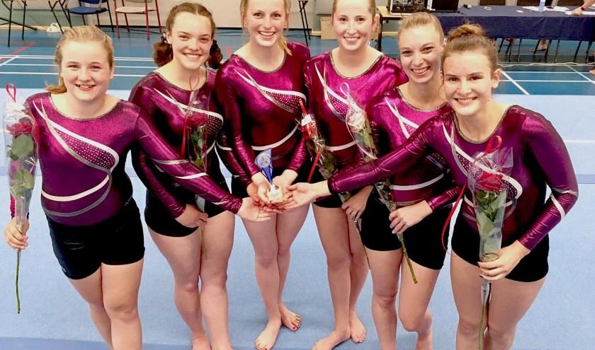 Goud voor Mobilee dames in turncompetitie