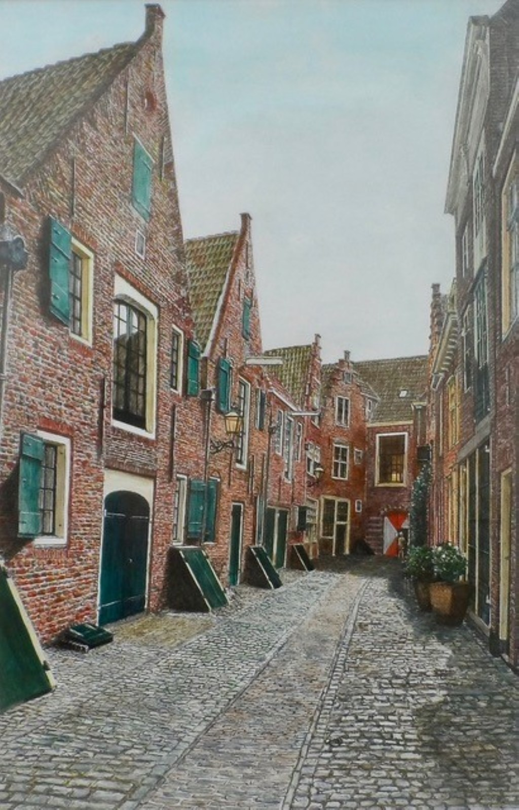 De Kuiperspoort in Middelburg, gezien door de ogen van Leo Burgs
