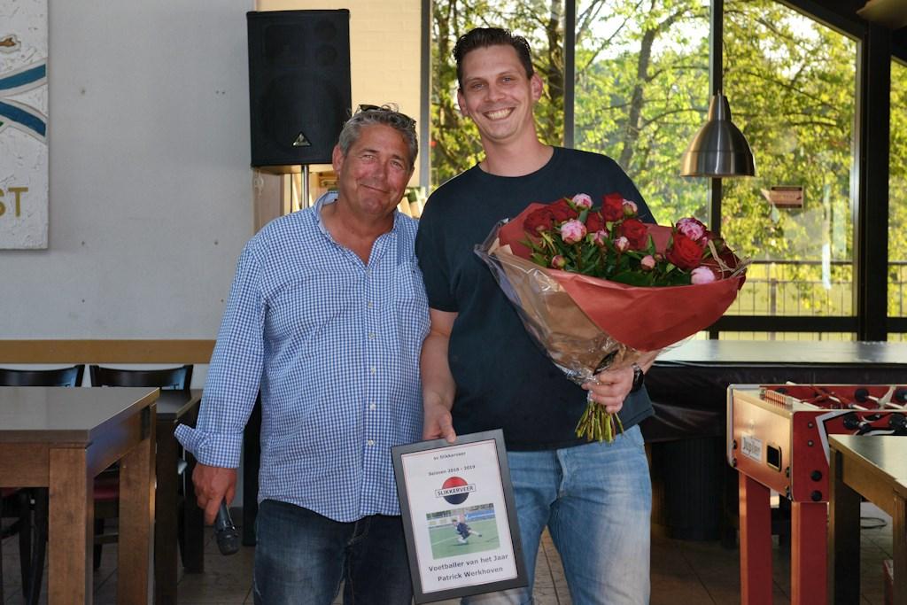 Patrick Werkhoven werd Voetballer van het Jaar bij Slikkerveer (Foto: Roelie 't Jong) Foto: Roelie 't Jong                       © Persgroep