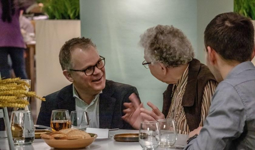 Restaurant 5 houdt in september voor de vijfde keer een belevingsdiner dat de stadsgenoten en ouderen verbindt. FOTO: PATRICK VERKOEIJEN