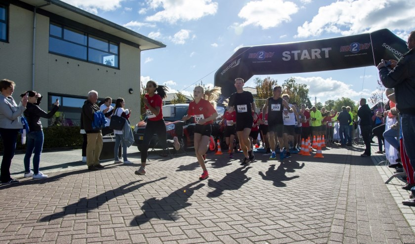 Start 5 kilometer HeteRUN 2018