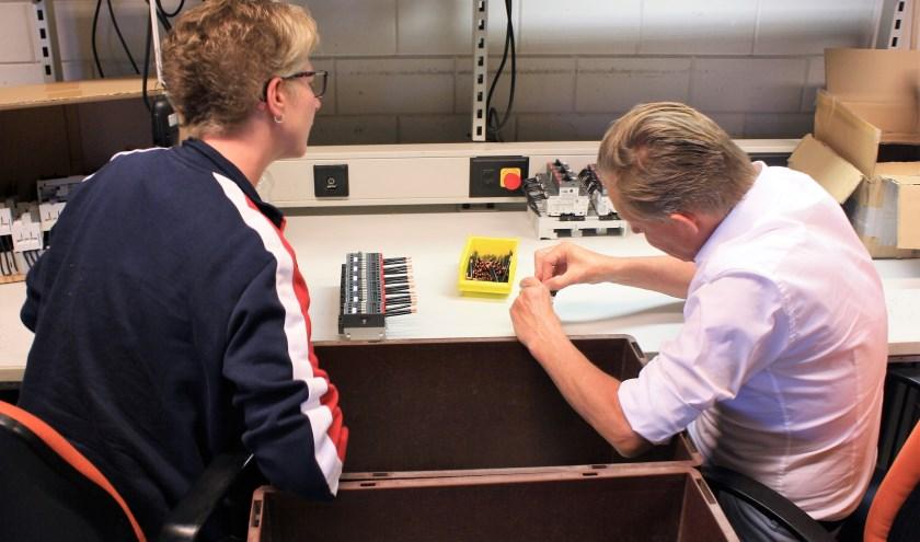 Gert-Jan van Noort Wethouder Harderwijk Anders + Inge medewerkster Proson