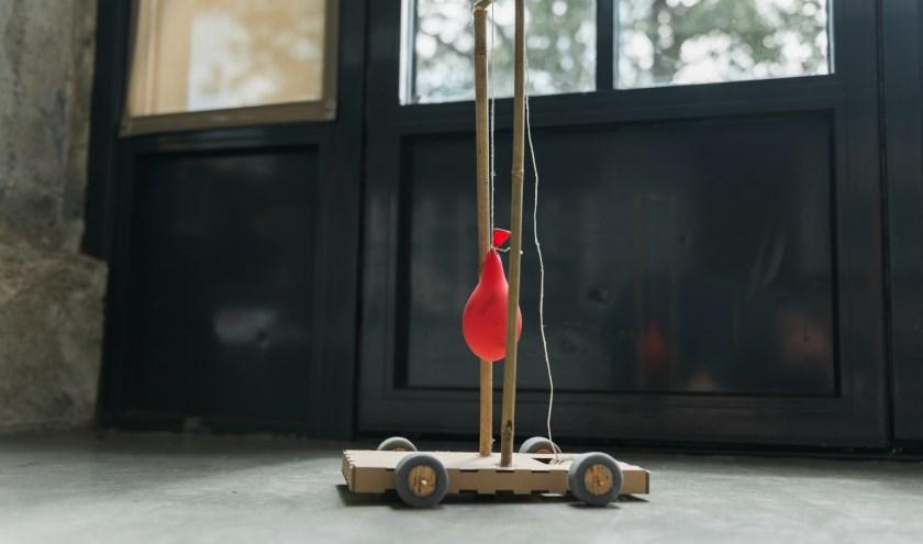 Een brandstofloze auto ontwerpen en maken is een van de activiteiten die in het zomerprogramma van de Maakplaatsen Free Energy staan.