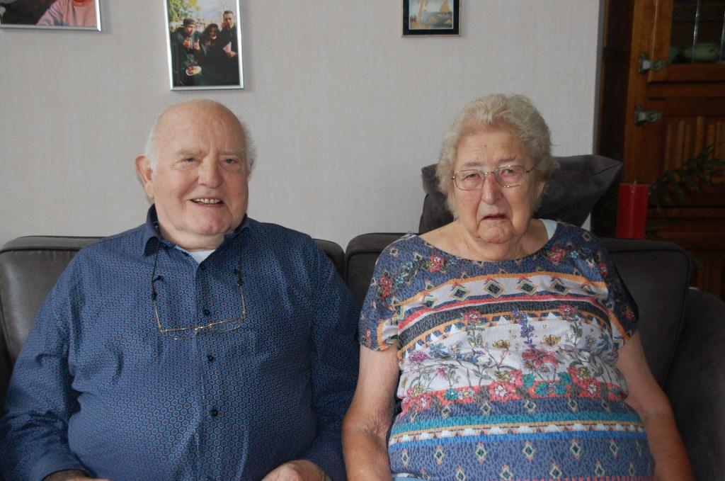 Gerardus (87) en Dorothea (87) Hol vierden 9 juli 2019 hun 65-jarig huwelijk.  © Persgroep