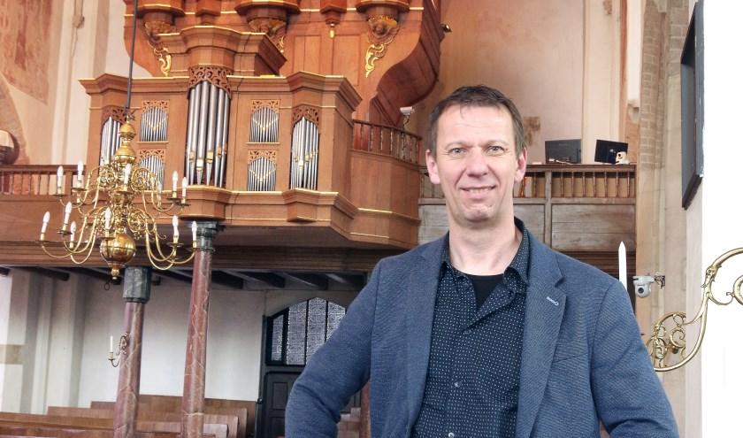 organist Harry van Wijk