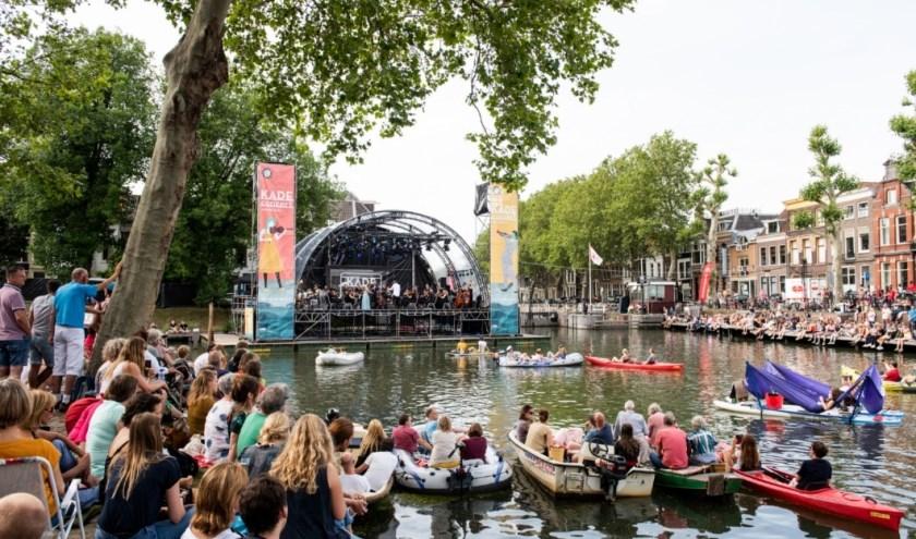 Utrecht geniet volop vanaf en rondom het water van Culturele Zondag Kadeconcert