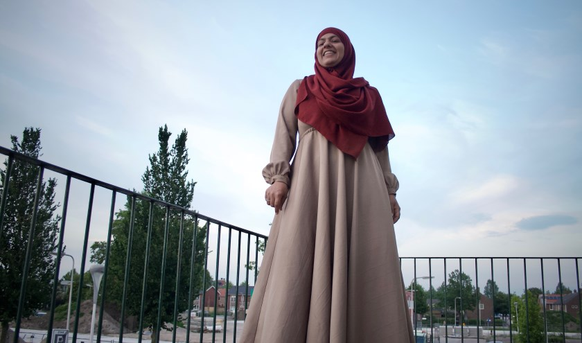 Shahira Sharif hanteert de stelregel: Wees trots als een pauw, zacht als een roos en sterk als een leeuw. Foto: Atelier Ambrosius