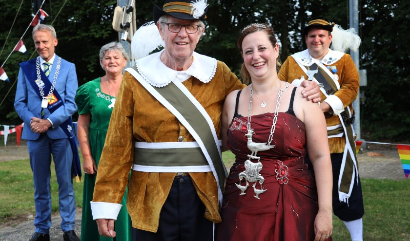 Yvonne ten Haaf is de eerste vrouwelijke keizer van het Escharense gilde. (foto Marco van den Broek)