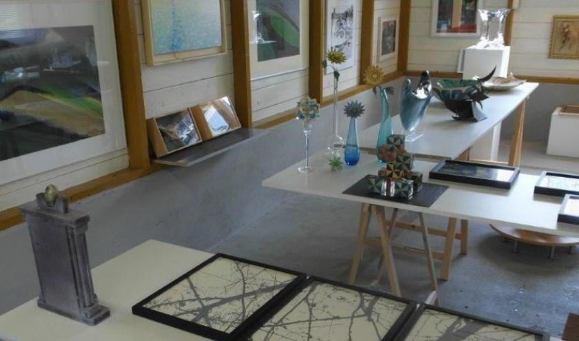 In de Kunstkamer Vaassen zijn meer dan 120 werken te zien van beeldend kunstenaars.
