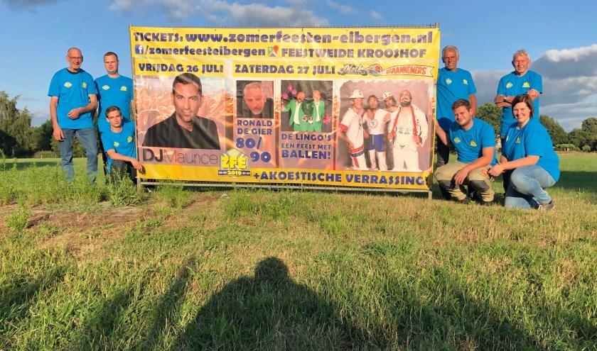 De organisatie is er klaar voor. De initiatiefnemers hopen vrijdag en zaterdag veel bezoekers te begroeten op het zomerfeest.
