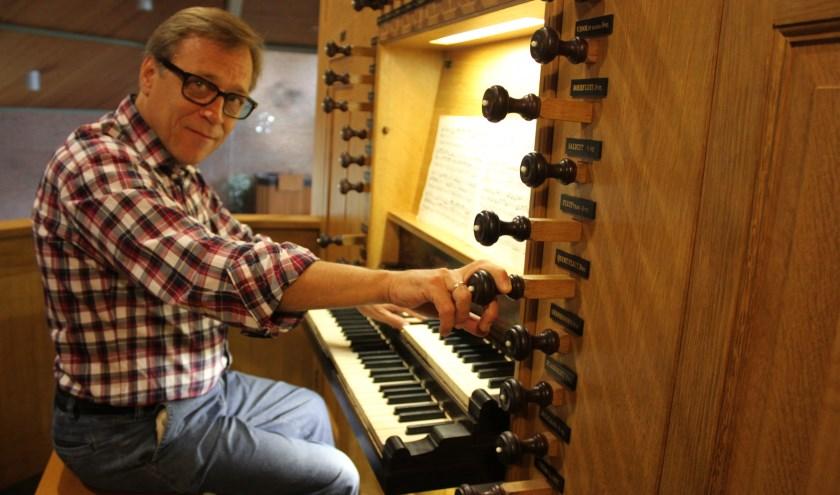 Organist Everhard Zwart
