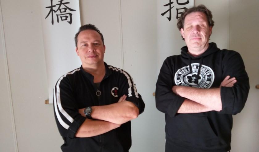 Robert Vogel Jr. (l) en Erik Batstra