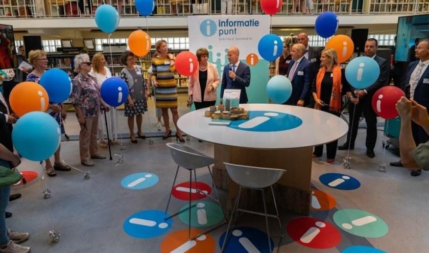 Maandag 1 juli opende staatssecretaris Knops het eerste Informatiepunt van Nederland.
