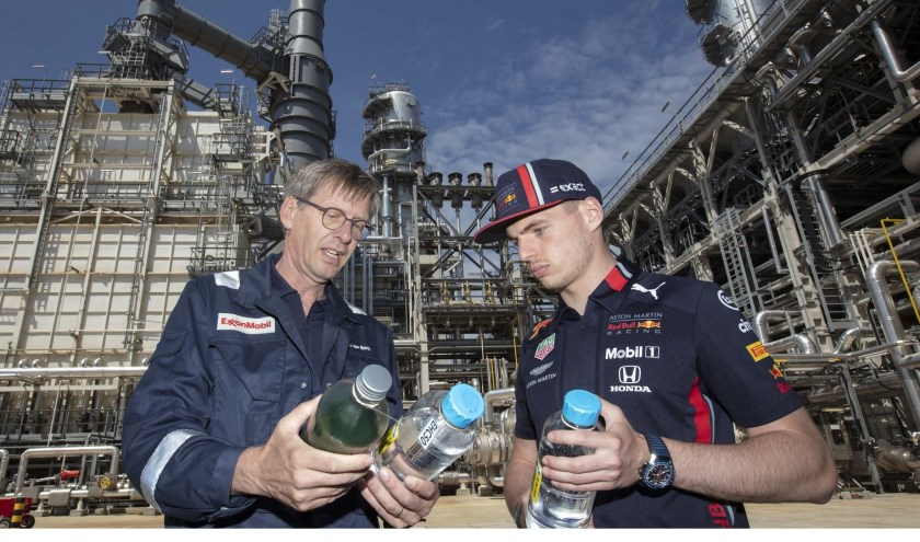 Max Verstappen bij ExxonMobile