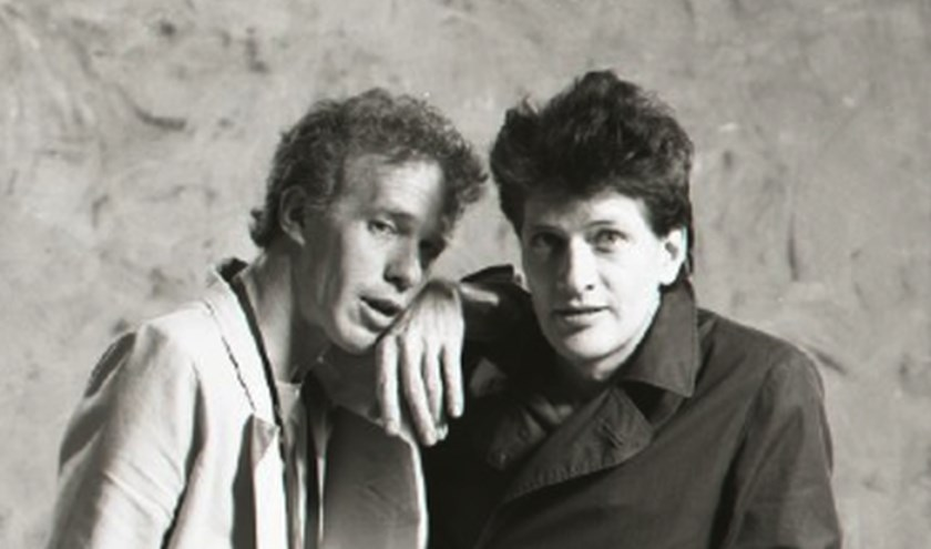 Bertus Borgers en Herman Brood
