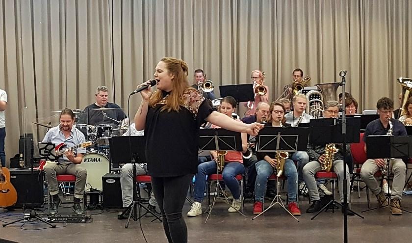 Tamara Bernard was één van de 16 acts die auditie deed voor de finale van Edes TOP 2019. (Foto: José van der Burg)