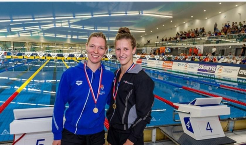 Mooie prestaties tijdens de Open Nederlandse Kampioenschappen. Foto: Kees-Jan van Overbeeke / Zwemsportfoto.nl.