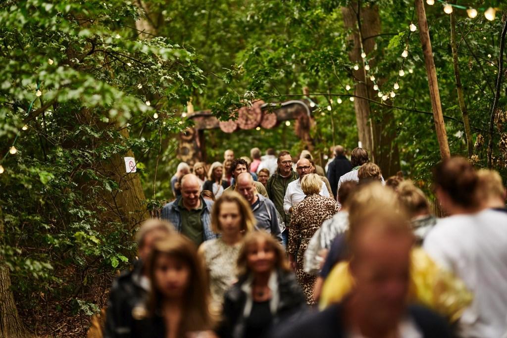 Als je een festival houdt op zo'n mooie locatie als het Hulsbeek, is er meteen een mooie entourage. Foto: Melvin Winkeler © Persgroep