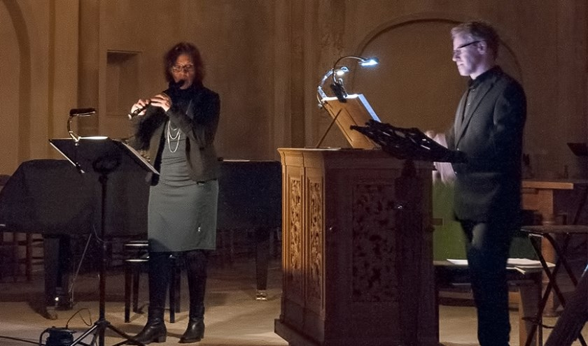 Duo Hanne Feldhaus en Wim Ruessink