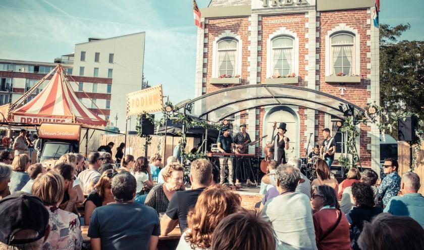 Festival TREK is sindsgisteren neergestreken in het paleiskwartier in Den Bosch.