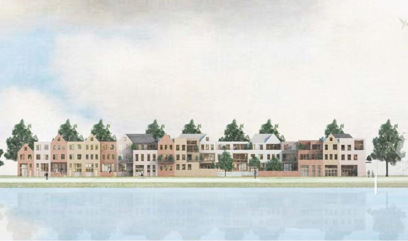 Impressie CPO woningen Sluiseiland © KRFT Architecten Amsterdam