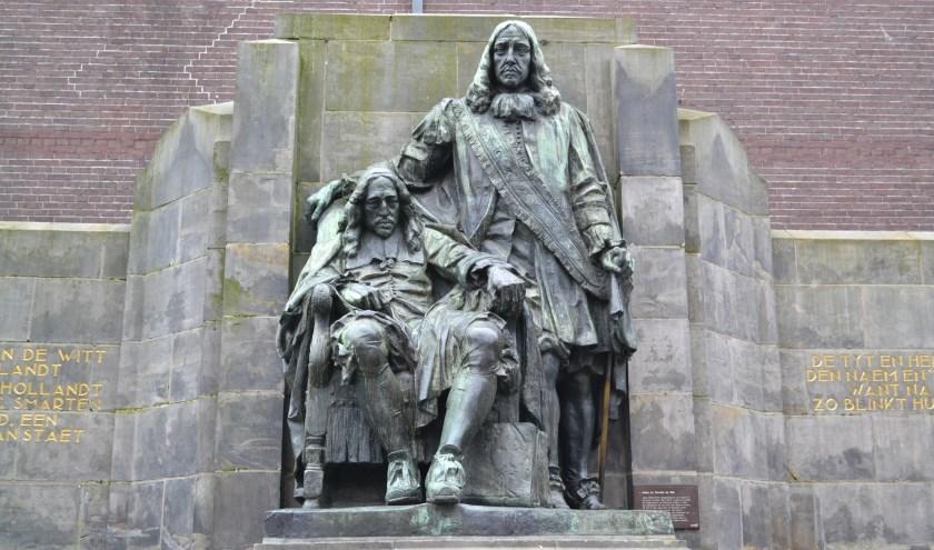 Johan de Witt (zittend) samen met zijn broer Cornelis. 'Ik heb zo veel gedaan voor de Republiek. En dan gaan ze zo met je om...'