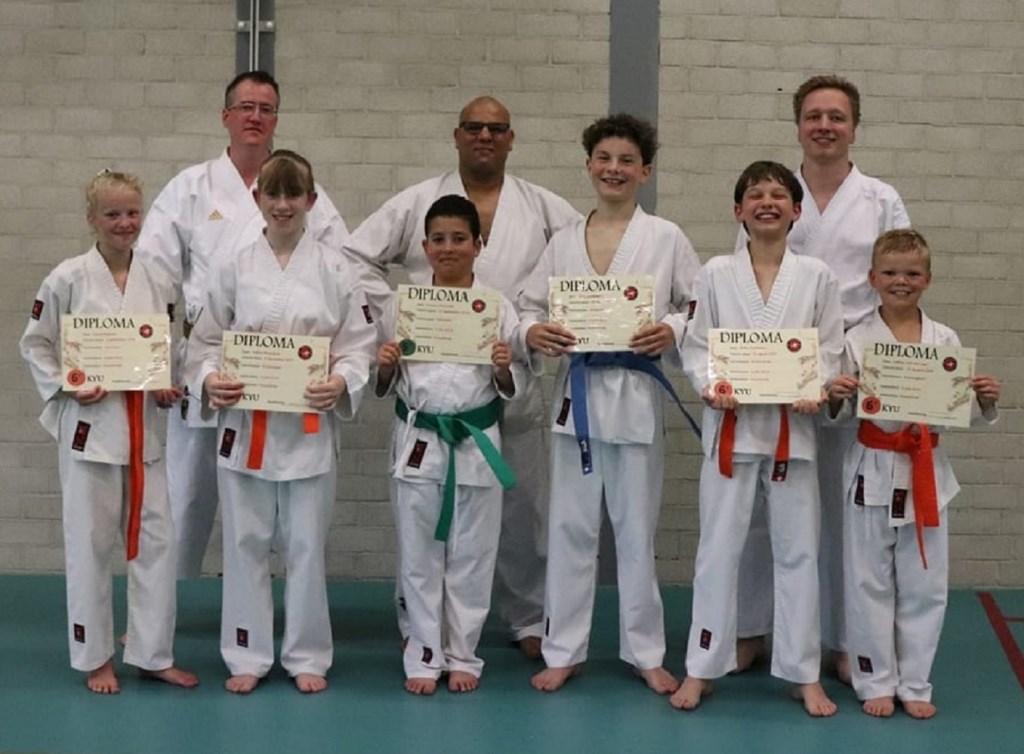 Karateka's jeugd. Foto: Patricia van der Voort © Persgroep