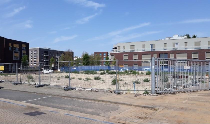 Er wordt dit jaar gestart met de bouw van zo'n dertig levensloopbestendige huurappartementen. (Foto: Elly Bruns)