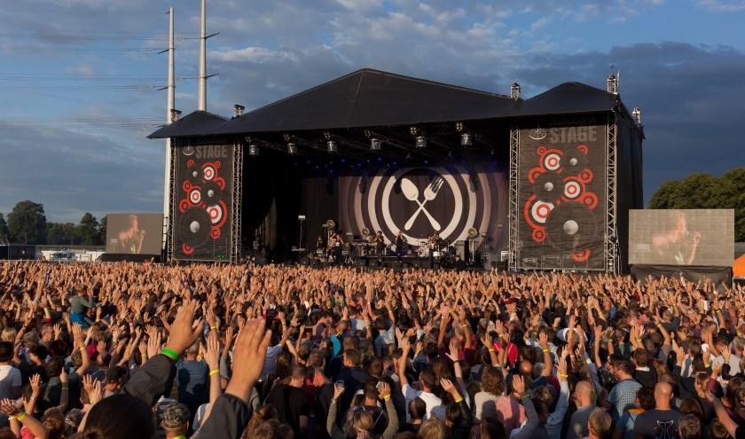 Dit jaar meer Achterhoekse bands op het Huntenpop-podium.