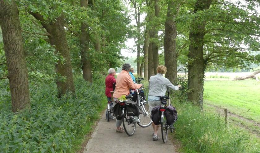 Evenmens houdt maandag een fietstocht voor mantelzorgers.