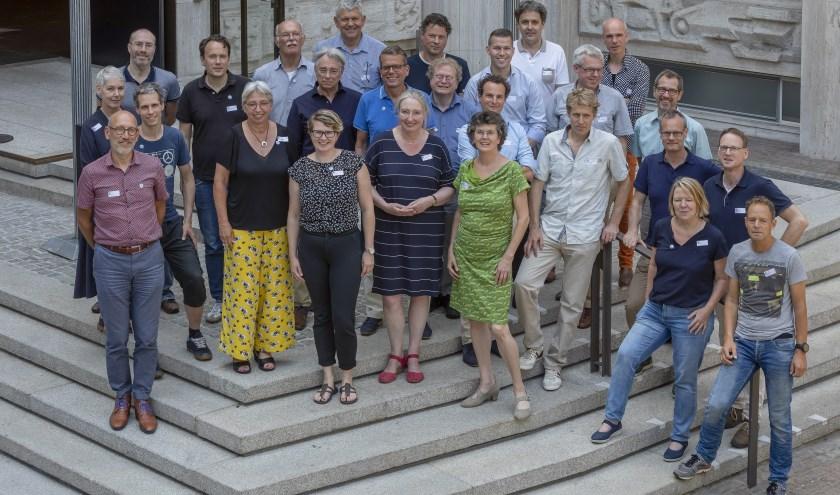 Auteurs en redactieleden van boekproject Verhaal van Gelderland.