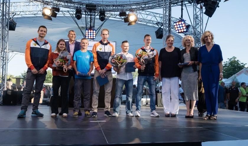 Zoetermeer eert haar sportkampioenen. Foto: Chris Lans