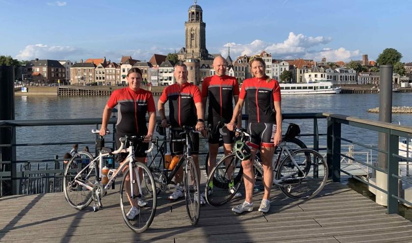 De vier leden van Team Deventer.