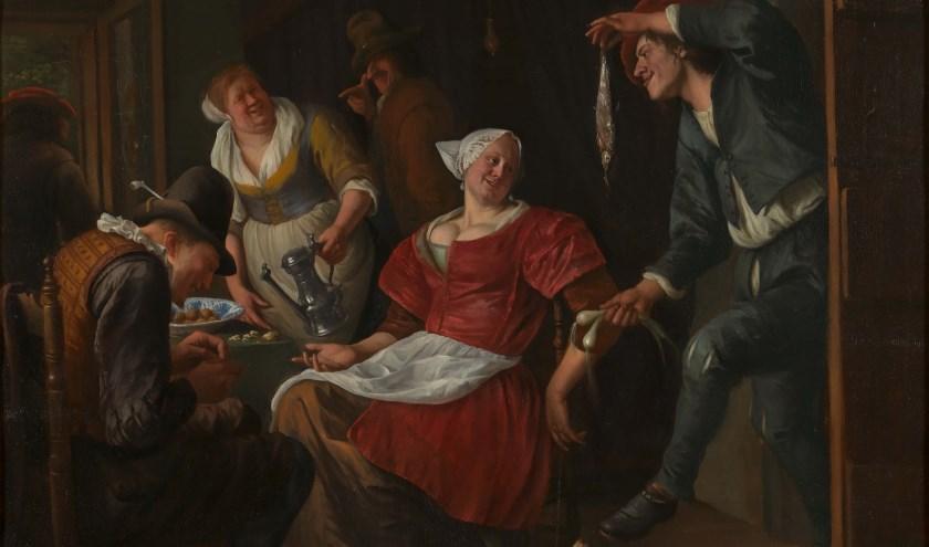 Jan Steen, 'Het minneaanbod', Koninklijke Musea voor Schone Kunsten van België. (foto: J. Geleyns - Art Photography)