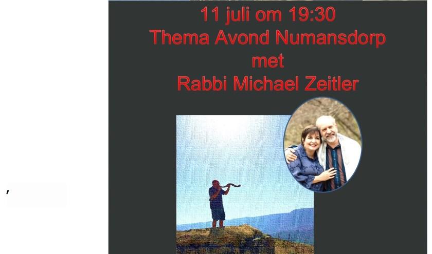 Rabbi Michael en Lucy Zeitler en zijn vrouw