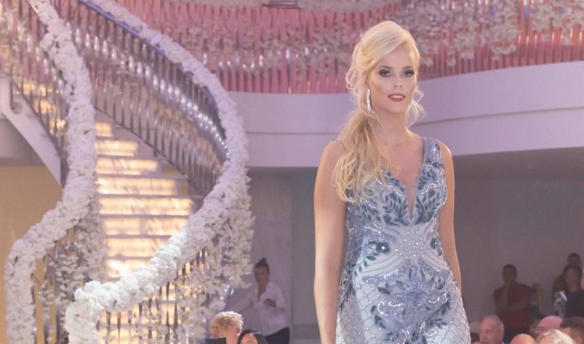Kimberly won de titel Miss World Nederland Multimedia. Foto: Fotovrouwtje