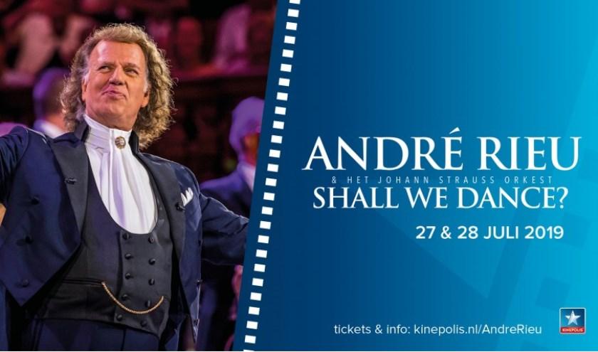 Dit jaar nodigt André Rieu je uit om je dansschoenen aan te trekken voor zijn spectaculaire 2019 Maastricht concert - 'Shall we dance?'.