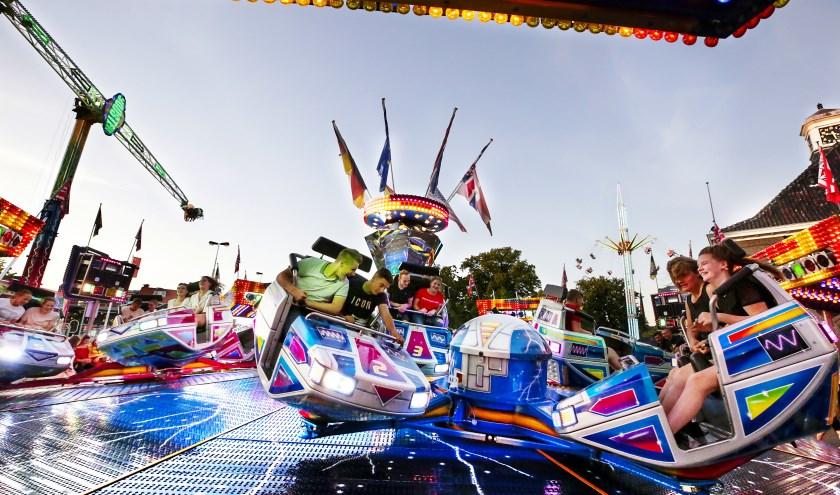 Een van de kleurrijke attracties op de Markt in Valkenswaard. Foto: Jurgen van Hoof.