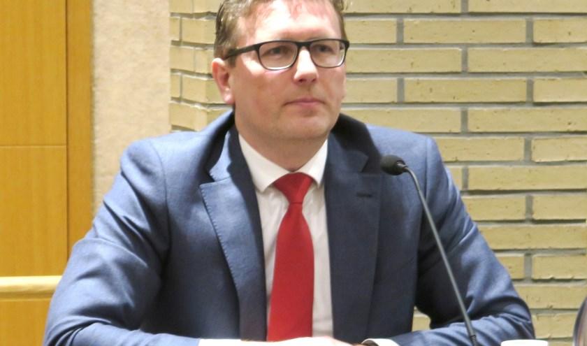 """Financieel wethouder Oosterwijk: """"Begroting moet sluitend zijn"""". (foto GvS)"""