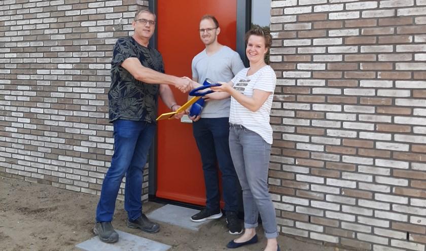 Oplevering eerste woning project HeideKwartier. (Foto: Kelderman Bouw)