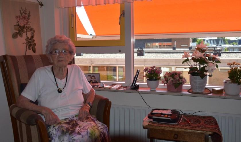 Van Duijn viert haar 102e verjaardag in Huize Sint Petrus.