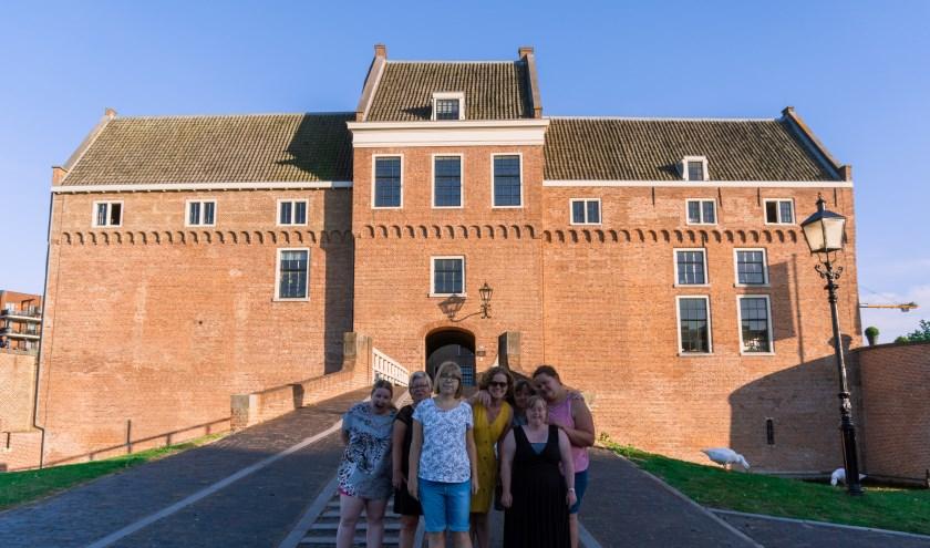 """Woonlocatie """"het kasteel"""" te Woerden waar onderdak geboden wordt aan 28 bewoners Foto: K. Kornaat"""