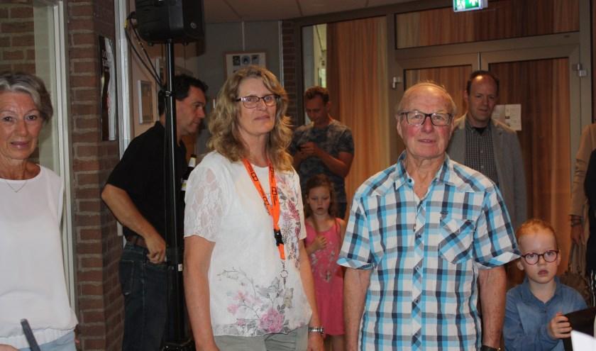 Arie van Dam en Els Baardmans, samen 120 jaar lid van De Turnkring. (foto: pr)