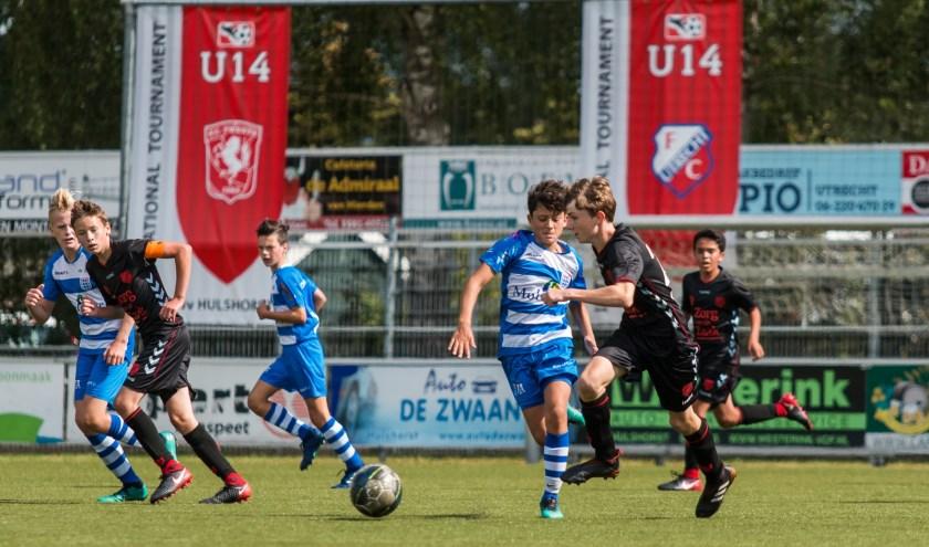 Het internationale U14 toernooi komt er weer aan bij VV Hulshorst. (Foto: Willemien van Duinen)