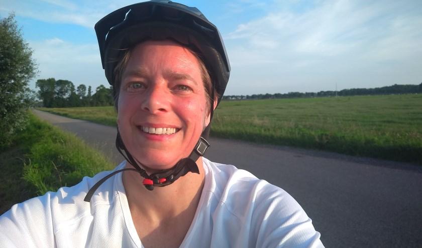 Tanja Slagter doet in september op haar ElliptiGO mee aan 2bike4alzheimer.