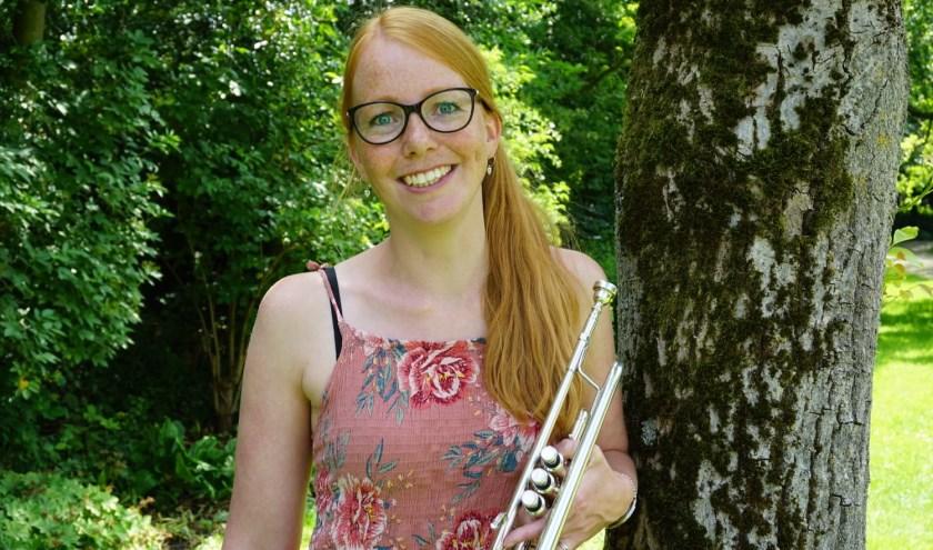 Blokfluitjuf Daphne Heester. (Foto: Privé)