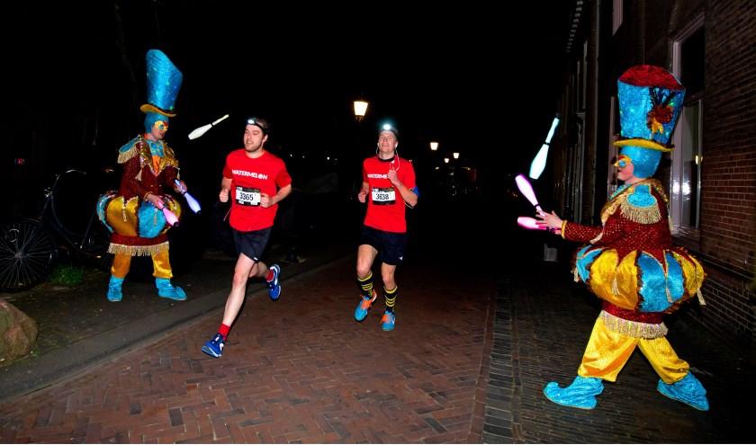 Nedal Utrecht Night Run. Foto Bart Hoogveld
