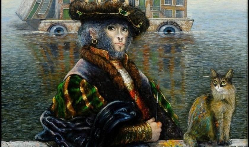 Voor de expositie 'Geniaal of knettergek?' heeft Museum Slager een groot aantal werken van Thomassen naar Den Bosch weten te halen.