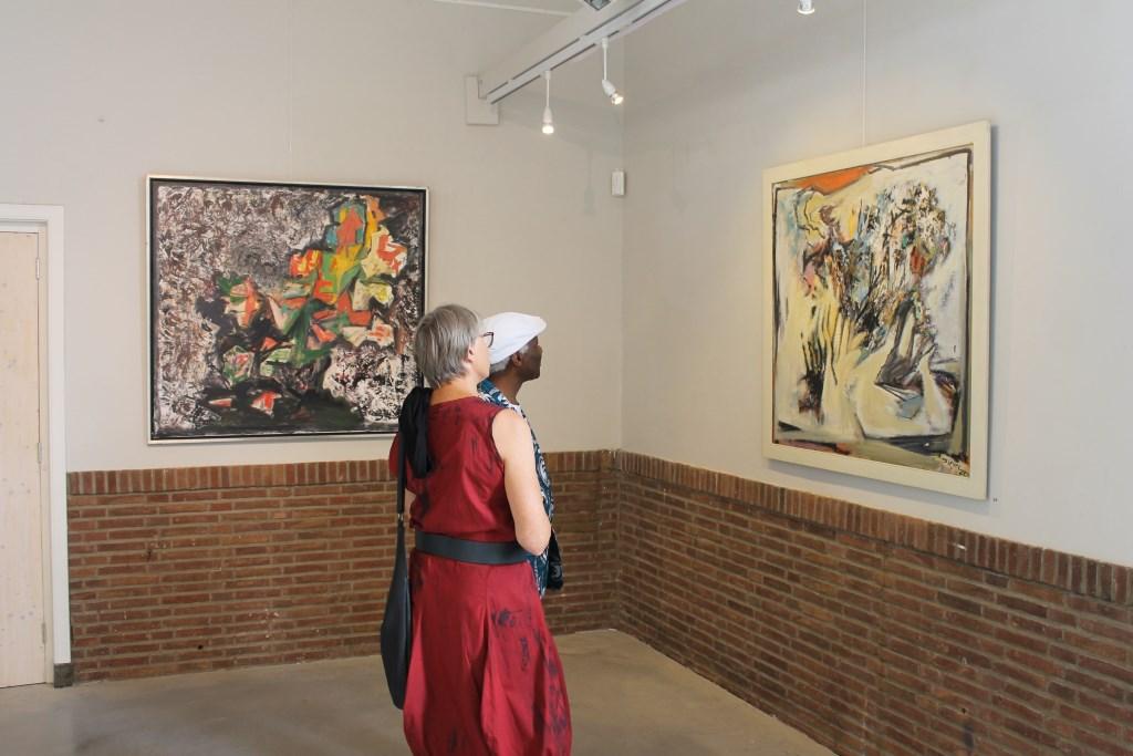 Kunstwerken van Sieger-White worden geëxposeerd van 16 augustus tot en met 8 september 2019.  Foto: Leo van der Linde © Persgroep