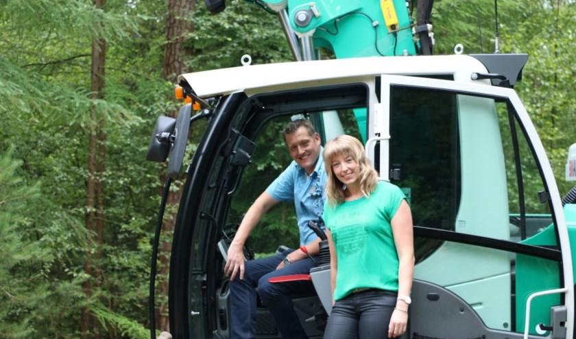 Dennis en Linda Nienhuis doen met hun bedrijf mee aan De Boer Op van Haaksbergen. Het fietsevenement is op donderdag 8 augustus.